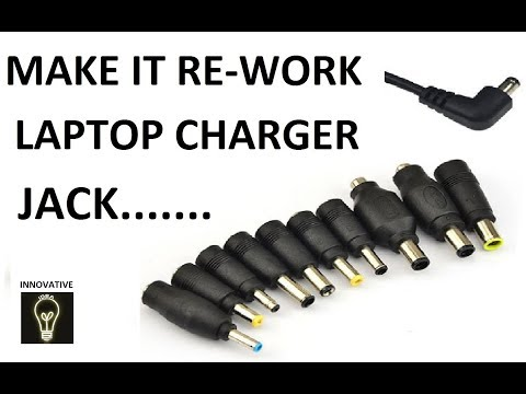 Fix and Repair Broken Laptop Power Cord || Charger pin