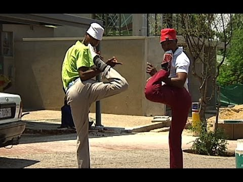 South African Pantsula dancers off to New York