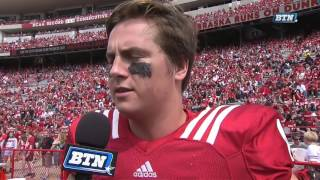 Patrick O'Brien Talks Huskers Offensive Performance Spring Game 4/15/17