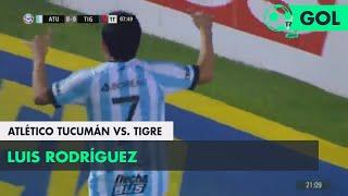Luis Rodríguez (1-0) Atlético Tucumán vs Tigre | Fecha 5 - Superliga Argentina 2018/2019
