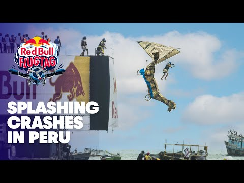 Biggest Splashdowns From Peru | Red Bull Flugtag 2016