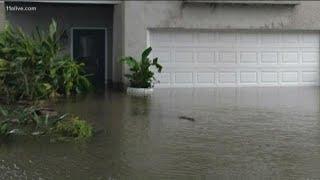 Coastal Georgia already seeing high-tide flooding, before Dorian arrives