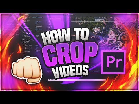How To Crop a Video In Premiere Pro❗
