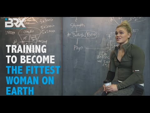 Training to Become The Fittest Woman on Earth