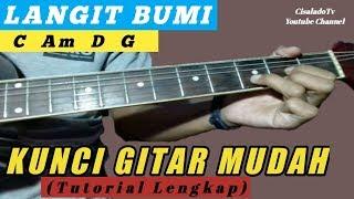 Kunci Gitar Mudah (Langit Bumi - Wali) By Cisalado Tv (Tutorial Gitar Untuk Pemula)