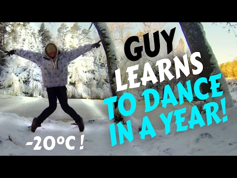 Guy learns to dance in a year (TIME LAPSE)