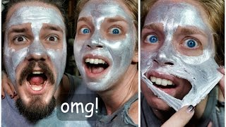 GLAM GLOW SILVER PEELING MASK! - FIRST IMPRESSION FRIDAY!