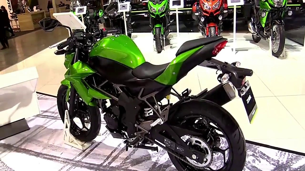 Kawasaki Z250 SL Launched in Indonesia at 2.03 INR: Pics & Details