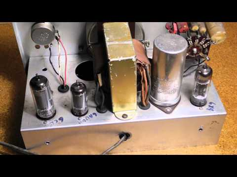 The Heathkit AG-9A Audio Generator