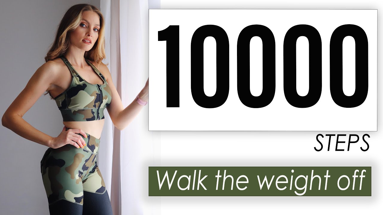 Walk The Weight Off 10000 Steps /1.5 Hour Low Impact Step Challenge
