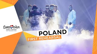 RAFAŁ - The Ride - First Rehearsal - Poland 🇵🇱 - Eurovision 2021