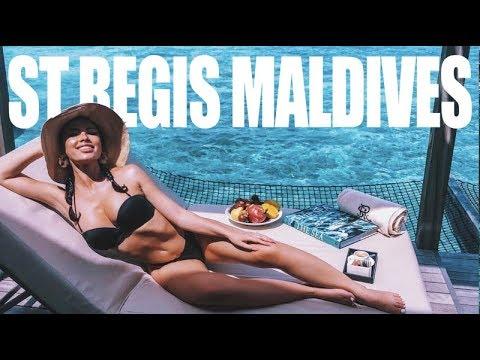 ST REGIS MALDIVES VOMMULI || 1 WEEK STAY VLOG