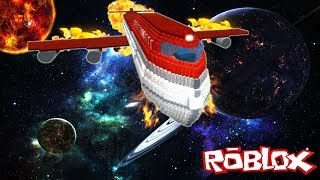 The WORLD'S TOP PLANE FALL DOWN! -Roblox