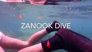 Freedive  อ่าวตโนด ในวันแดดจัด