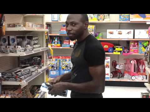 Playing in KMart