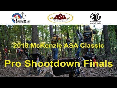 2018 Delta McKenzie ASA Classic Pro Shootdown Finals