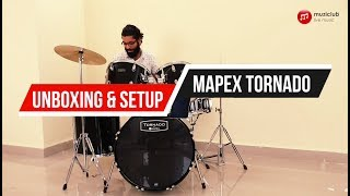 Mapex Tornado | Drumset Unboxing and Setup