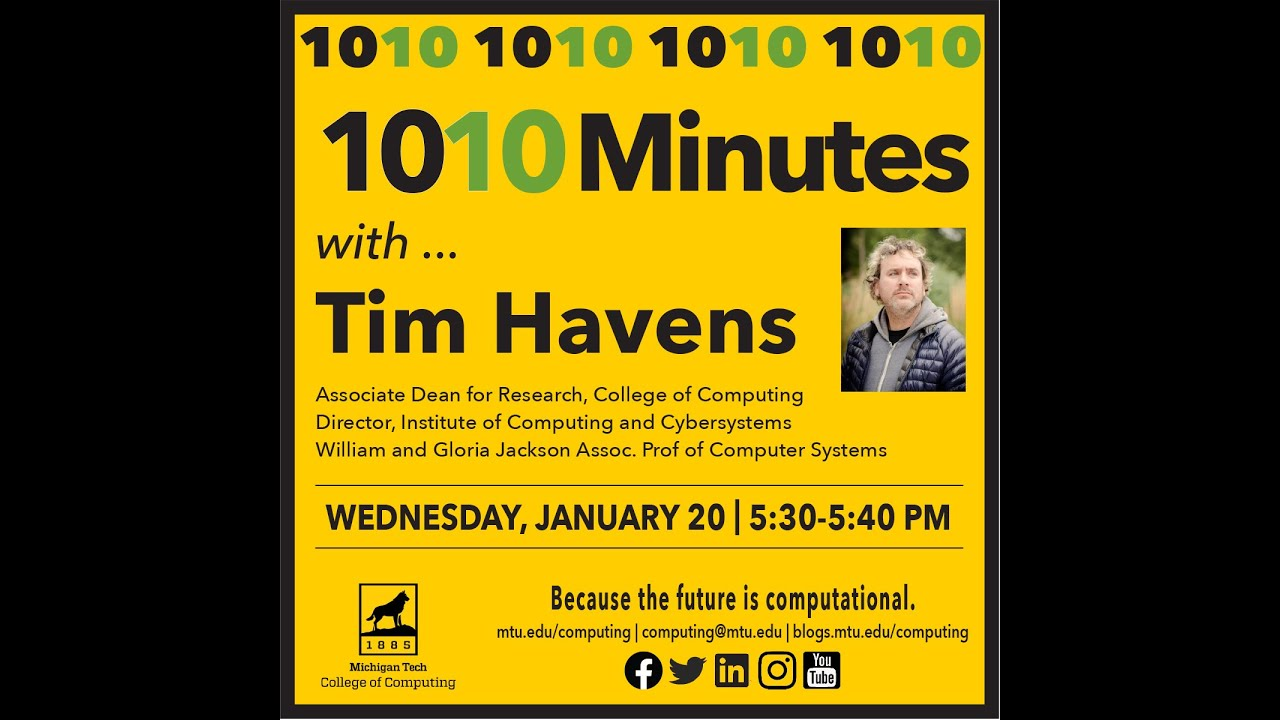 Preview image for 1010 with Tim Havens, Jan. 20, 2021 video