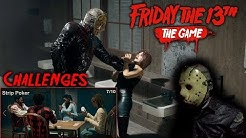 Friday the 13th the game - Gameplay 2.0 - Challenge - Strip Poker