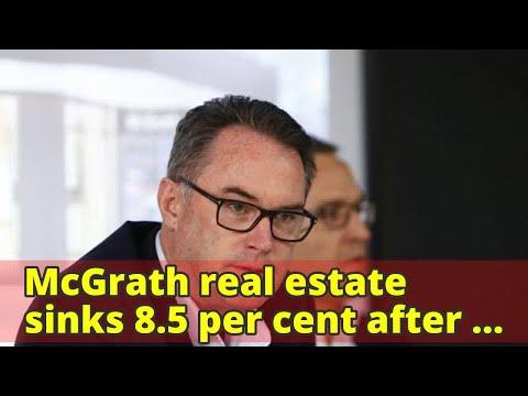 McGrath real estate sinks 8.5 per cent after gambling debt revealed