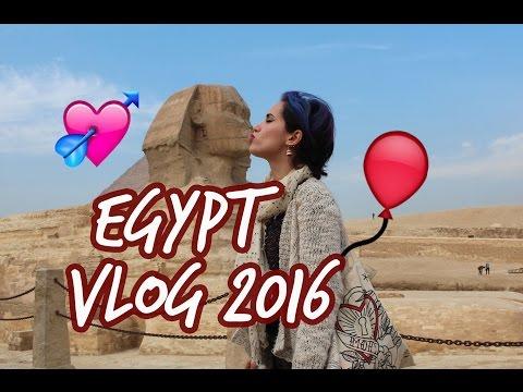 EGYPT VLOG 2016 🇪🇬️ Cairo, Aswan, Luxor (Temples, Nile cruise, balloon...)