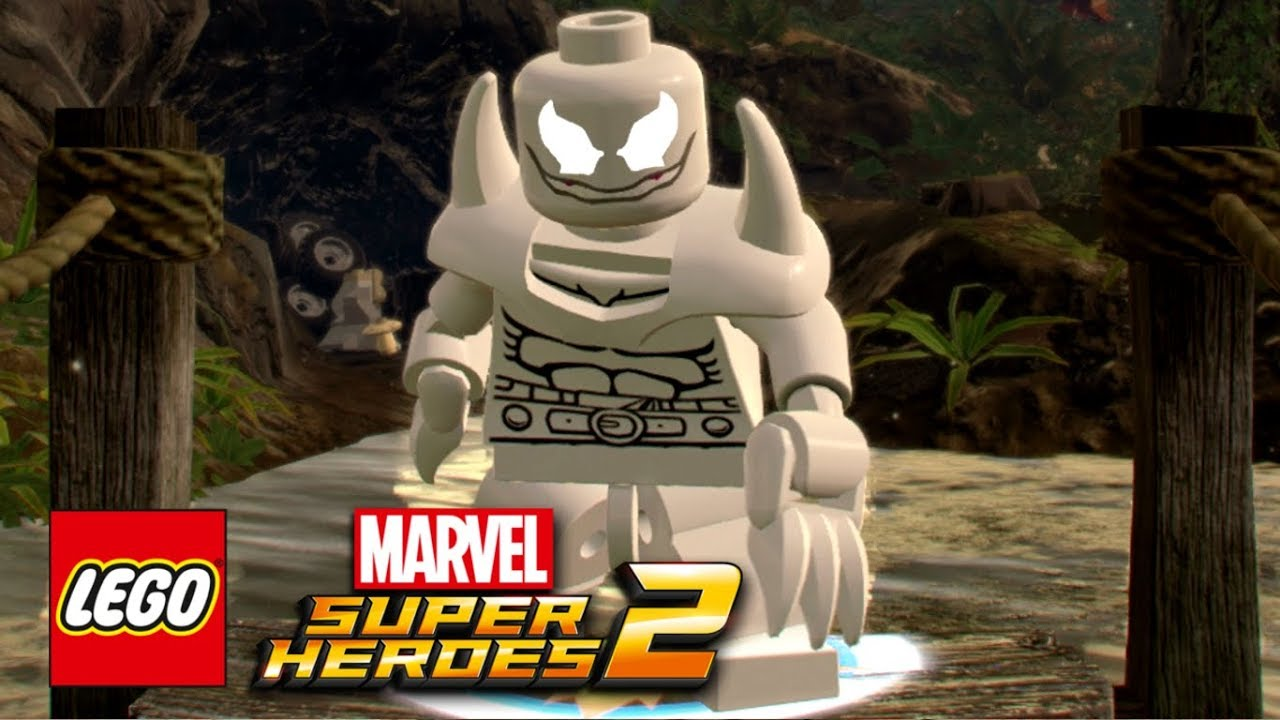 LEGO Marvel Super Heroes 2 How To Make Anti Venom YouTube