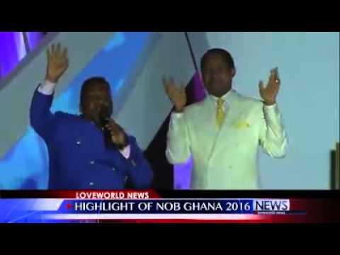 Night of bliss Ghana highlights