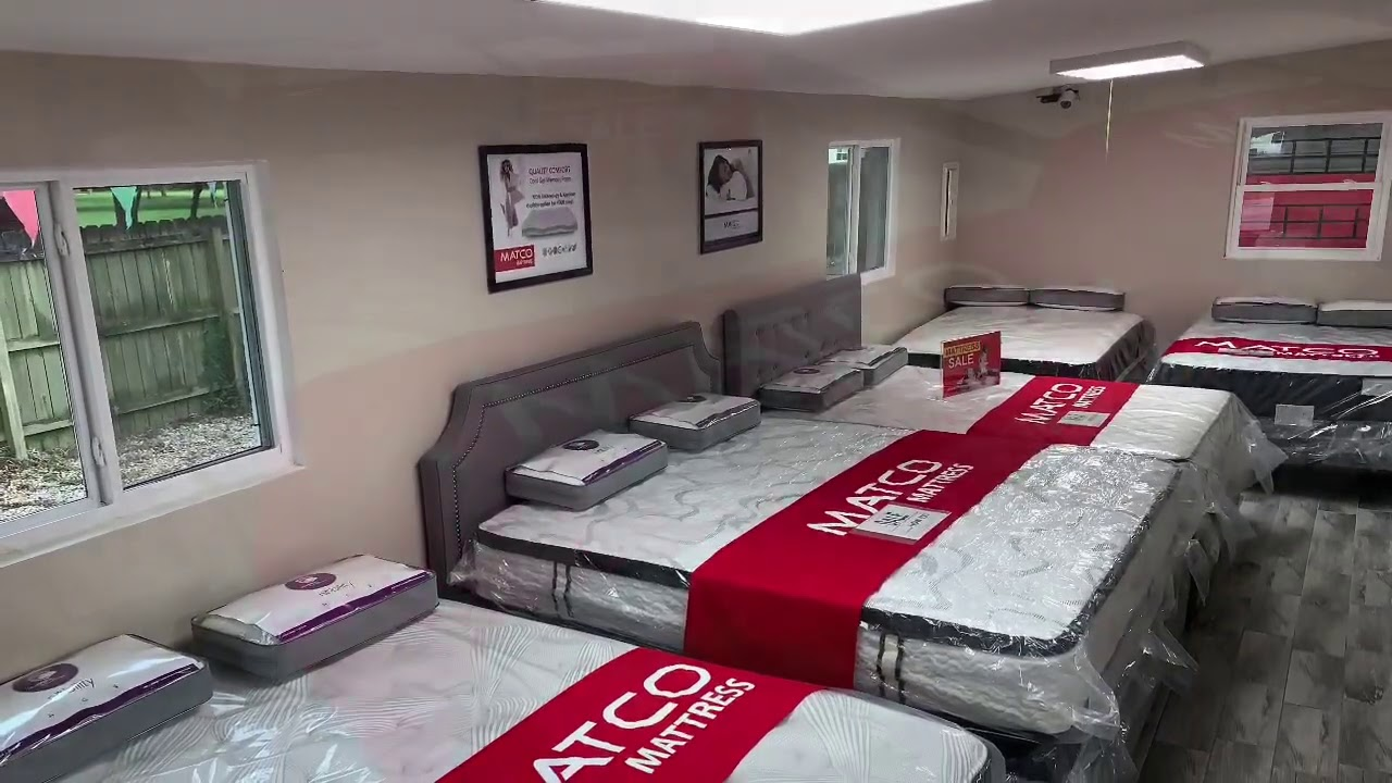 Happy Friday everyone!!! MATCO Mattress has everything you could need for your bedroom!