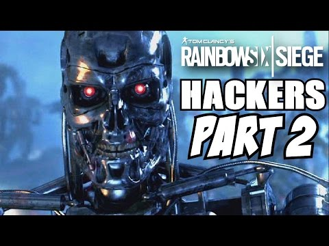 Rainbow Six Siege Hackers Caught Part 2 (Raybaans) Ranked Match