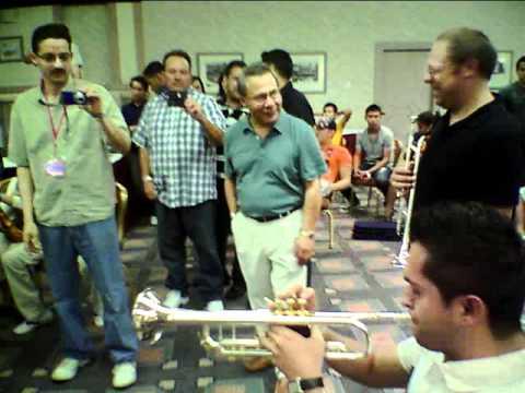 Mantecas playing El Becerro Albuquerque Mariachi Jam 2011
