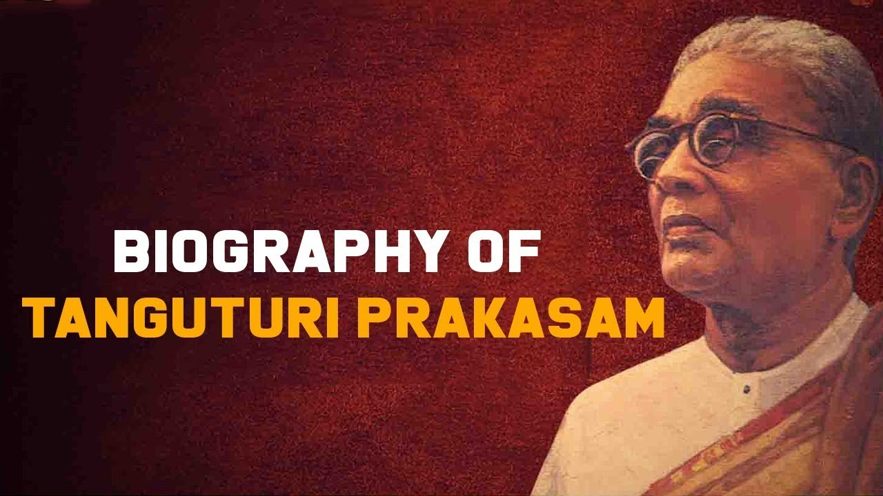 Remembering the ex-CM of Andhra Tanguturi Prakasam Panthulu