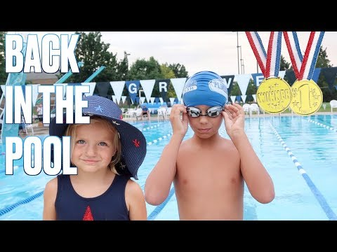 🏊 FIRST SWIM MEET OF SUMMER | KIDS SWIMMING COMPETITION | FIRST PLACE WINNER 🥇