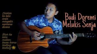 Download Melukis Senja - Budi Doremi Official Music Video   Farsakustik cover