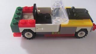 Как сделать прикольную машинку из конструктора лего
