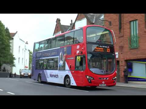 NORWICH BUSES AUG 2017