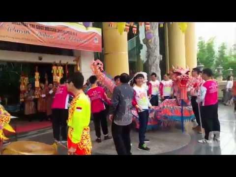 Perayaan Waisak di Indonesia Buddhits Center Association