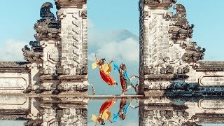 Bali's Gates of Heaven, is it REAL? | BrooklynAndBailey & KamriNoel