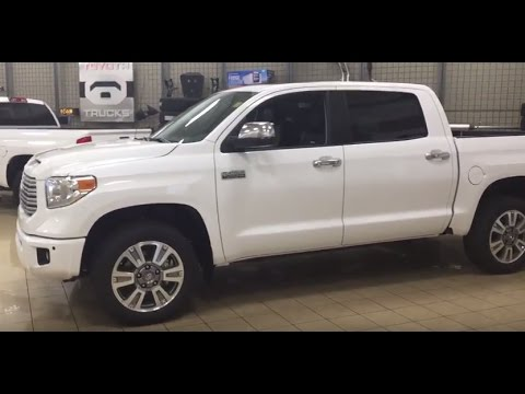 2017 Toyota Tundra Platinum Review
