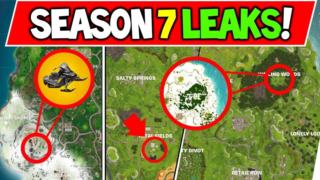 Fortnite Season 7 Leaks And Secret Theories Rumor Events New