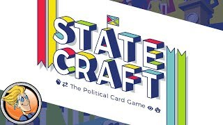 Statecraft: The Political Card Game — game preview at SPIEL '17