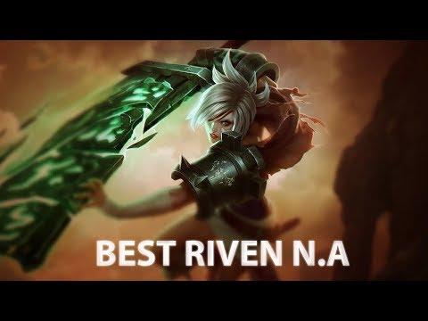 BRNA  Riven vs GarenTop  - BRNA Riven Gameplay