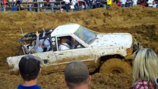 Good Friday Mud Bog 2009 in King William Va (Girl driving Toyota)