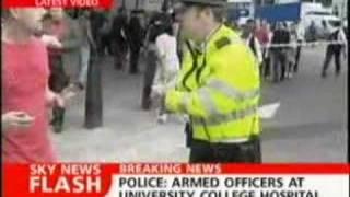 Sky News - 21 July 2005 London bombings