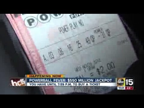 No Powerball winner; jackpot jumps to $550M