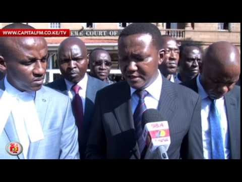 Court throws out petition against Governor Mutua's win