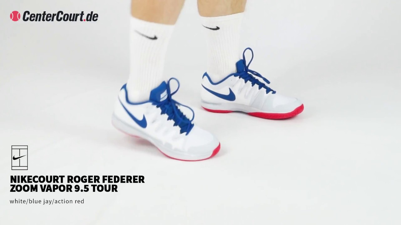 ed82270cbd6b NikeCourt Roger Federer Zoom Vapor 9.5 Tour - YouTube