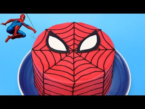 RECETTE GATEAU SPIDERMAN   CARL IS COOKING   YouTube