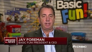 Basic Fun's Jay Foreman: Dec. 15 tariffs would have forced us to cut 15% workforce