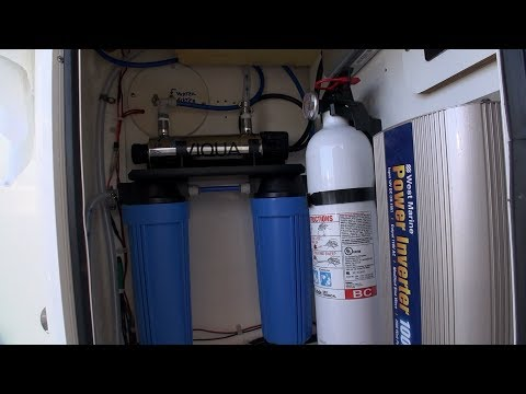 Installing Water Filtration/Watermaker System On Our Boat
