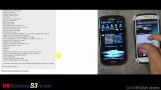 USGalaxyS3.com - JellyBomb Domination ROM for Sprint Samsung Galaxy S3